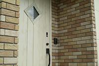 ドアとタイルのマッチング